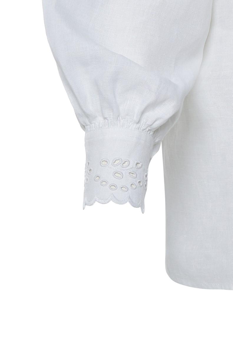 Dzūkiški moteriški siuvinėti marškiniai Mrš13