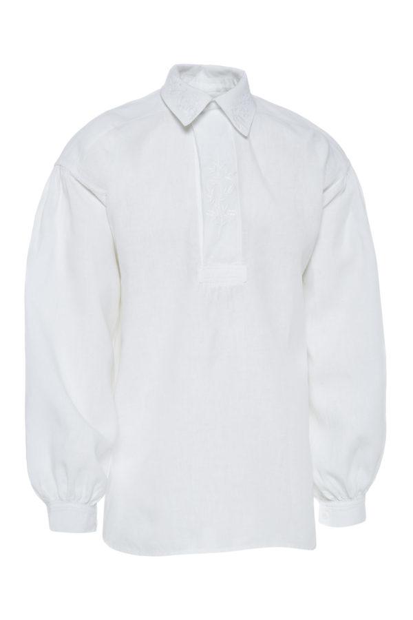 Suvalkietiški vyriški marškiniai su apykakle Mrš37