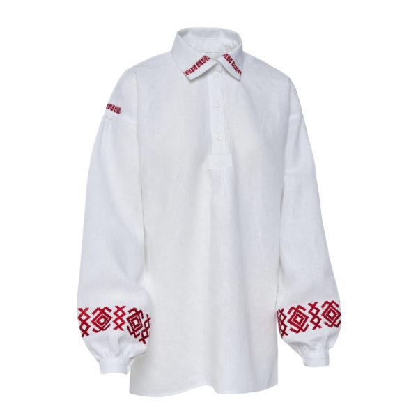 Aukštaitiški moteriški marškiniai Mrš2
