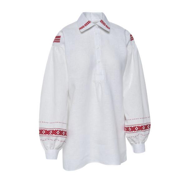 Aukštaitiški moteriški marškiniai Mrš8