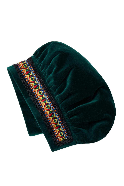 Aksominė kepurėlė 13KEP