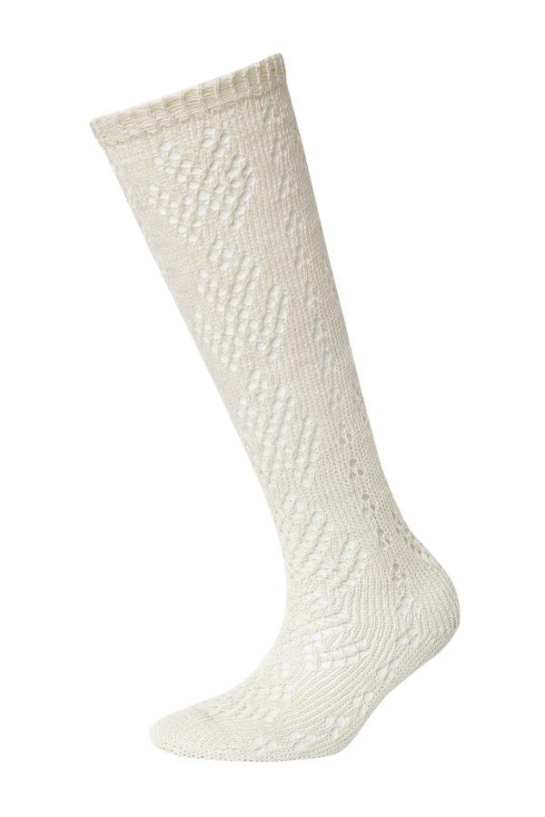 Lininės ažūrinės kojinės 6BAT