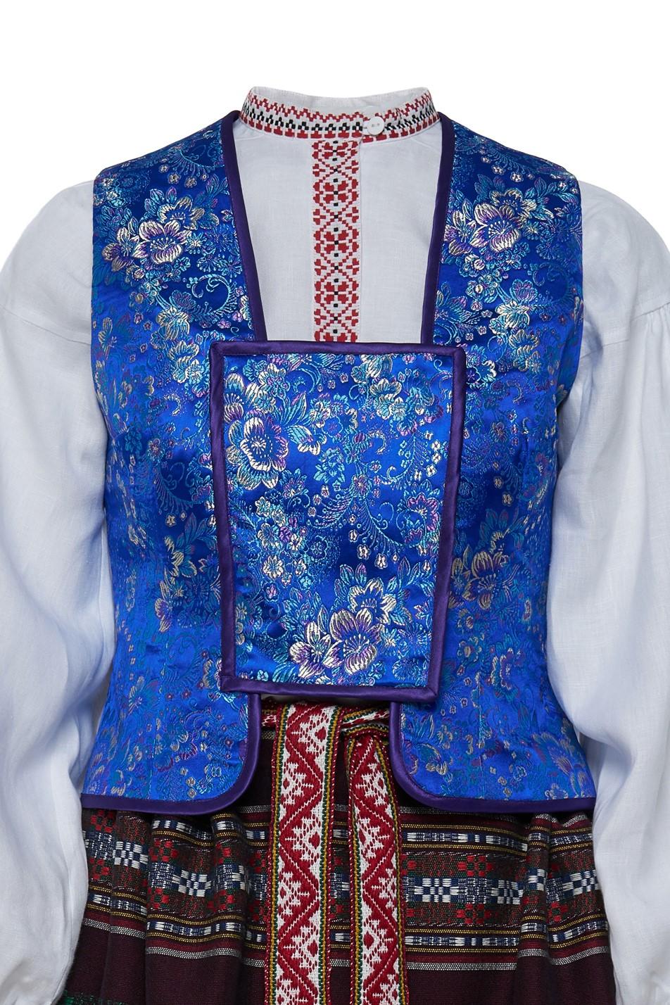 Dzūkiškas moteriškas tautinis kostiumas KD3