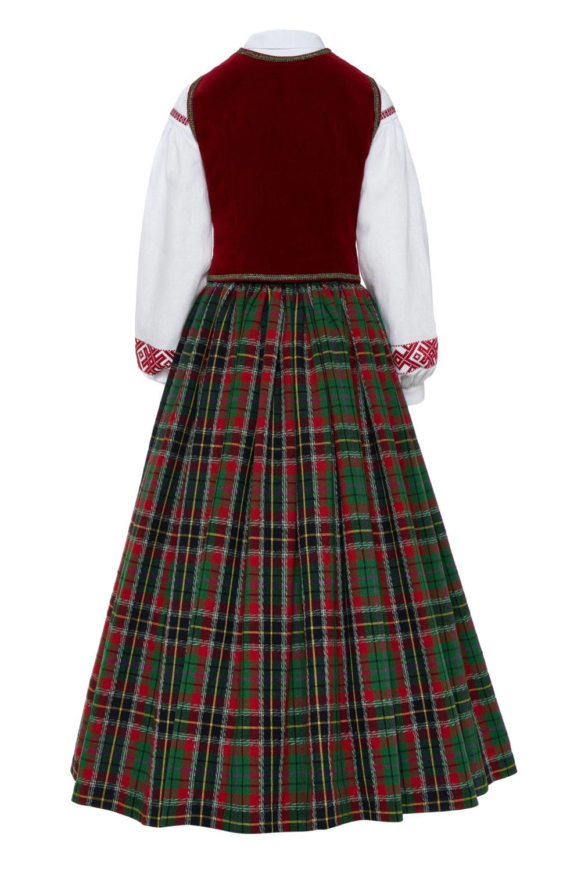 Aukštaitiškas moters tautinis kostiumas KA1