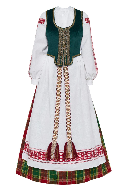 Aukštaitiškas moters tautinis kostiumas KA3