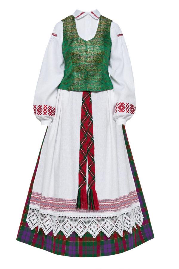 Aukštaitiškas moters tautinis kostiumas KA4