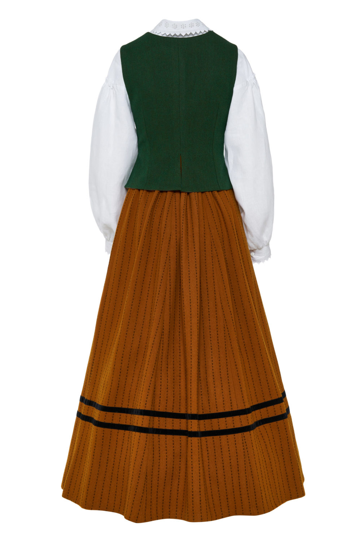 Dzūkiškas vėlyvojo laikotarpio moters tautinis kostiumas KD1