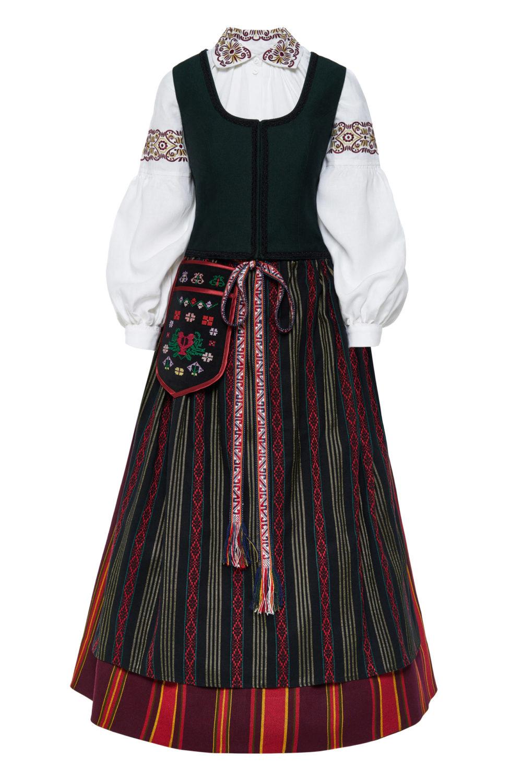 Klaipėdos krašto moteriškas tautinis kostiumas KKLP4