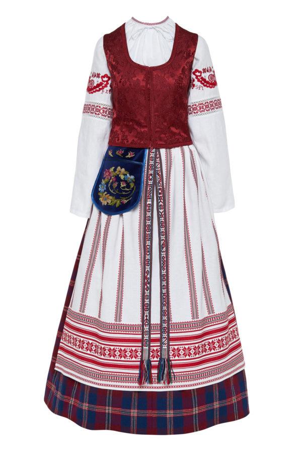Klaipėdos krašto moteriškas tautinis kostiumas KKLP5