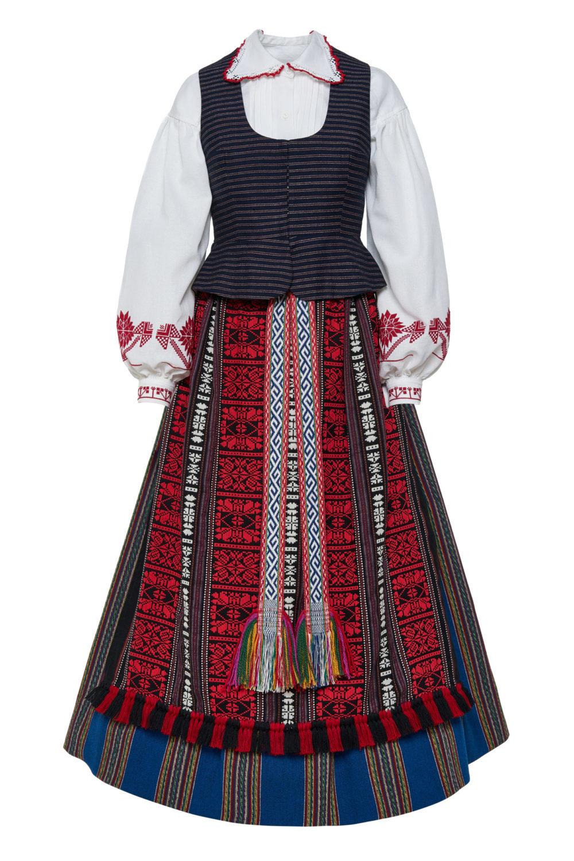 Suvalkietiškas Zanavykės moters tautinis kostiumas KS1