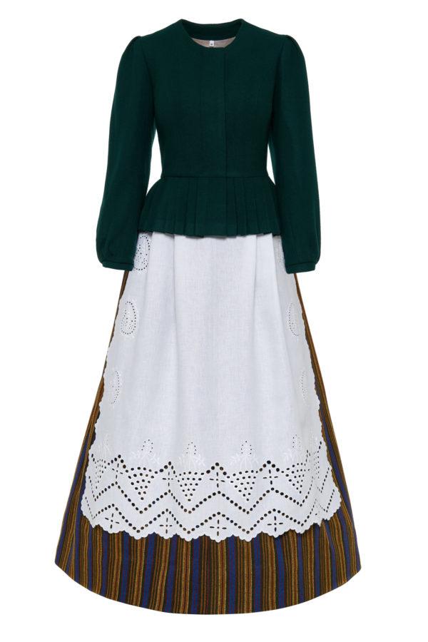 Žemaitiškas moteriškas tautinis kostiumas KZ3
