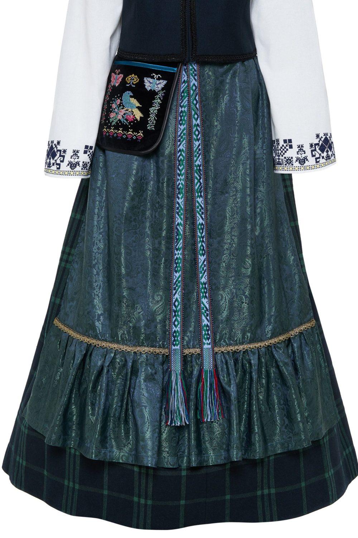 Klaipėdos krašto moteriškas vėlyvojo laikotarpio tautinis kostiumas KKLP1