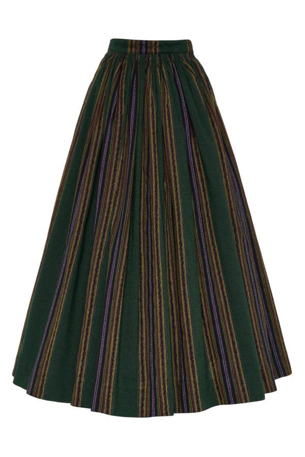 Suvalkietiškas rankinio audimo sijonas SIJ16