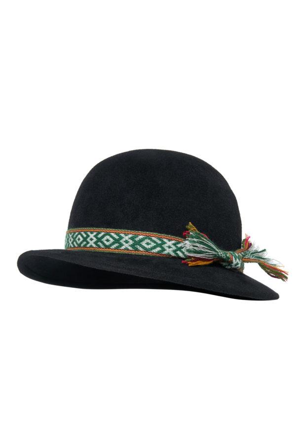 Žemaitiška vyriška skrybėlė įv. juostelėmis