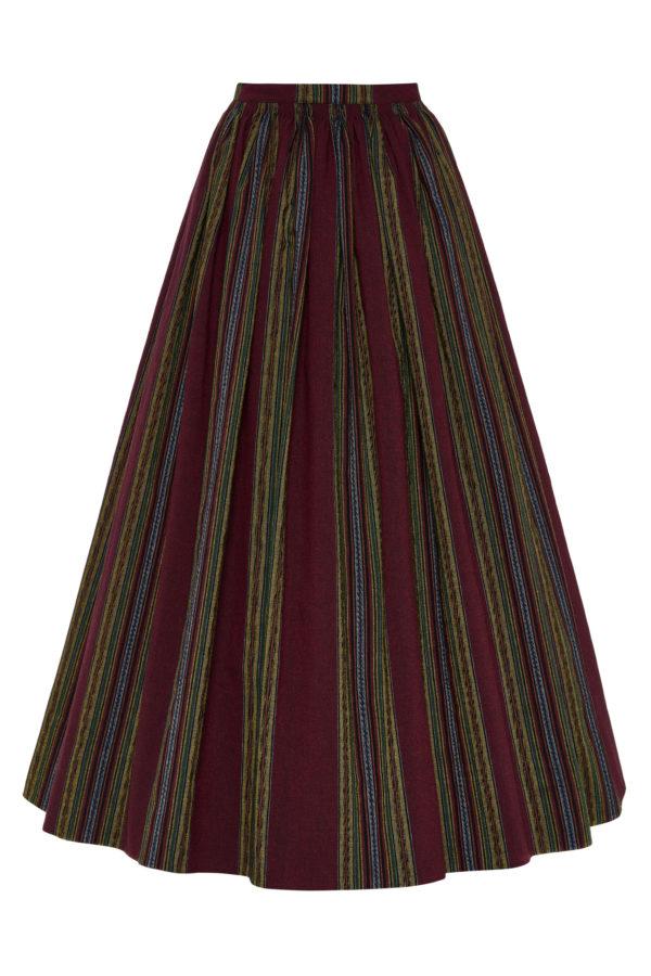 Suvalkietiškas rankinio audimo sijonas SIJ14