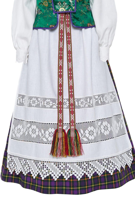Dzūkiškas moteriškas tautinis kostiumas KD4
