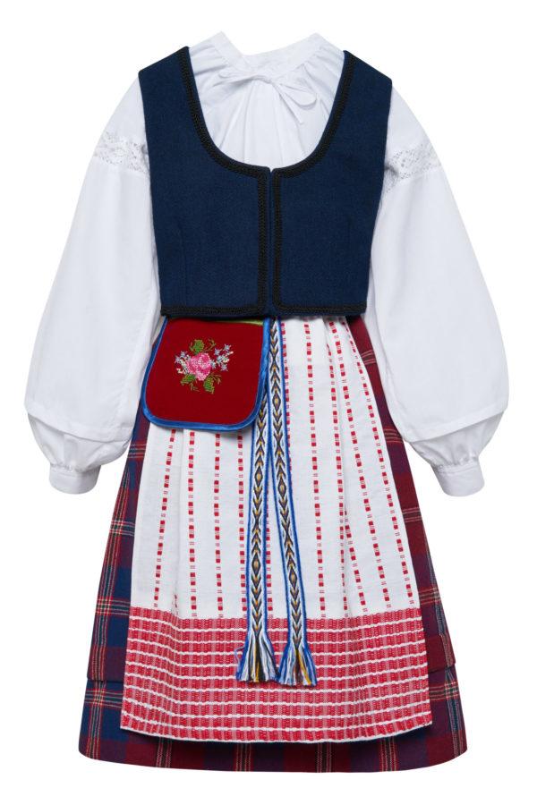 Klaipėdos krašto mergaitės tautinis kostiumas KMERKLP1