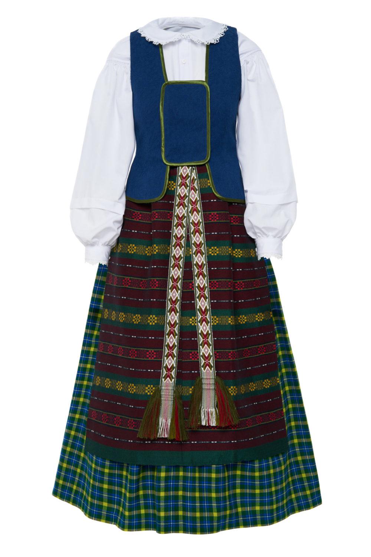 Dzūkiškas mergaitės/merginos tautinis kostiumas KMERD2
