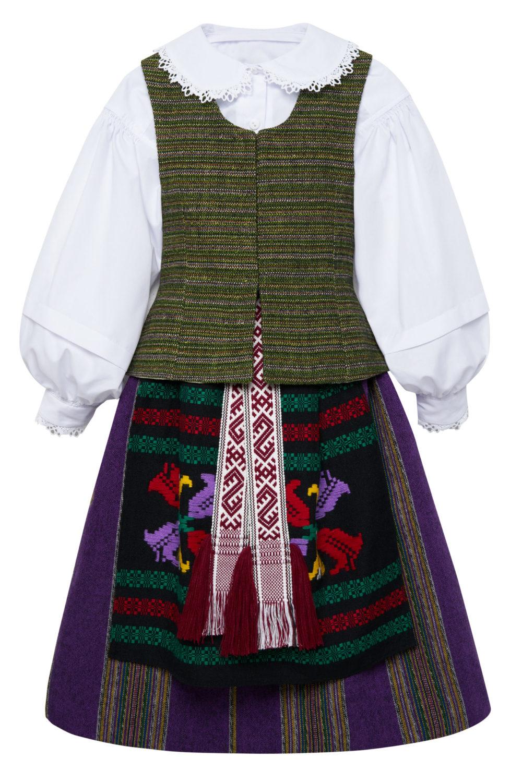Suvalkietiškas mergaitės/merginos tautinis kostiumas KMERS1