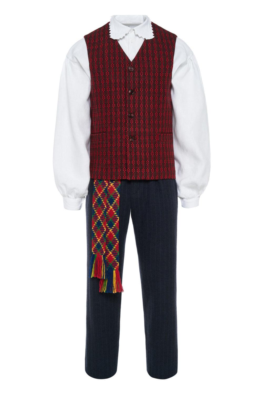 Aukštaitiškas vyriškas tautinis kostiumas KVA1