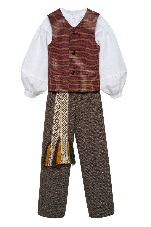 Berniuko/vaikino tautinis kostiumas KBER2