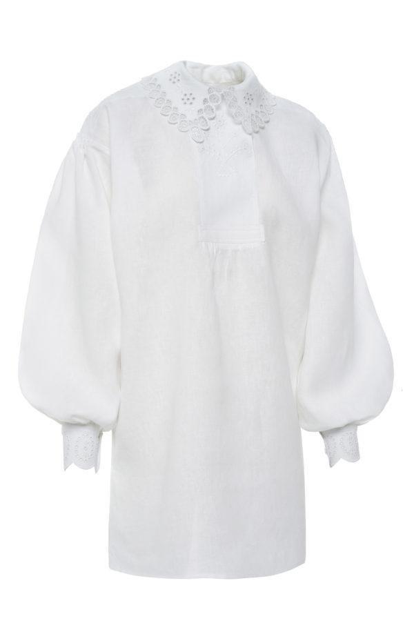 Dzūkiški moteriški siuvinėti marškiniai Mrš51