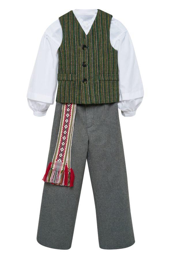 Berniuko/vaikino tautinis kostiumas KBER1