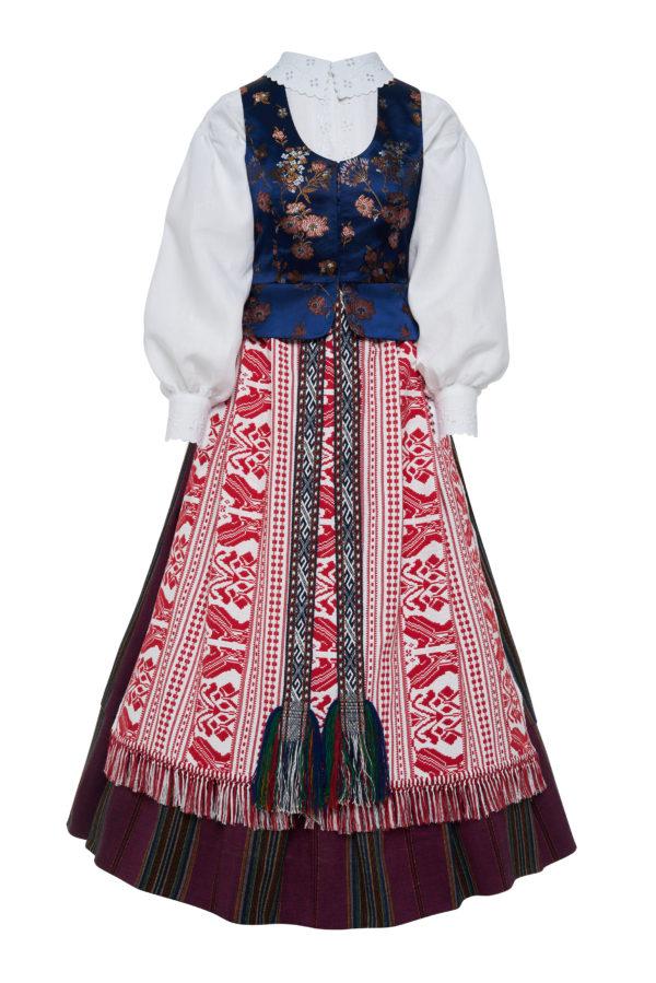Suvalkietiškas Zanavykiškas moters tautinis kostiumas KS5