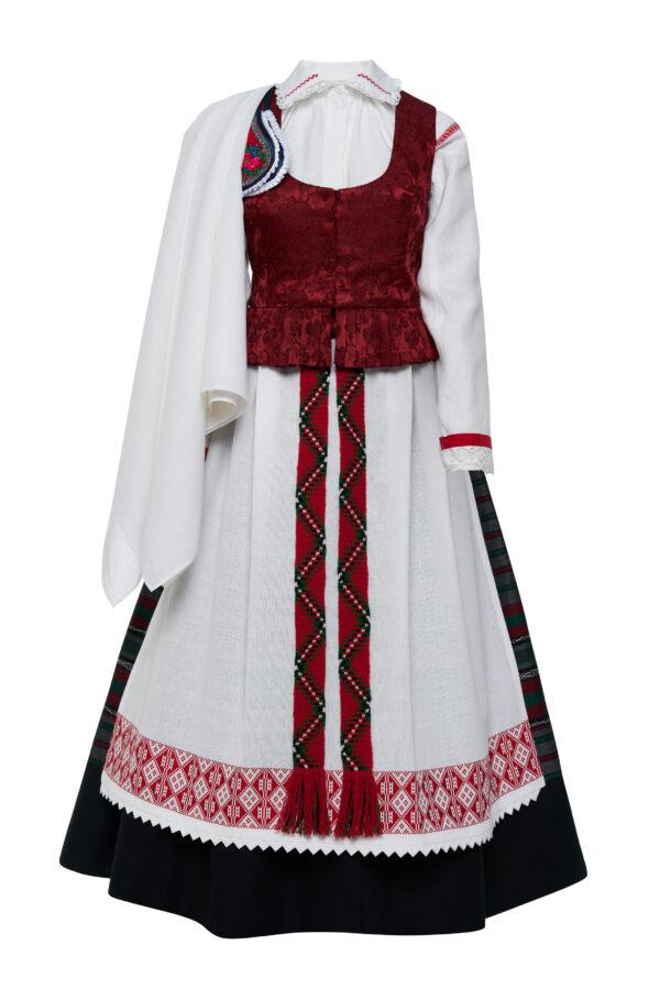 Aukštaitiškas moters tautinis kostiumas KA8