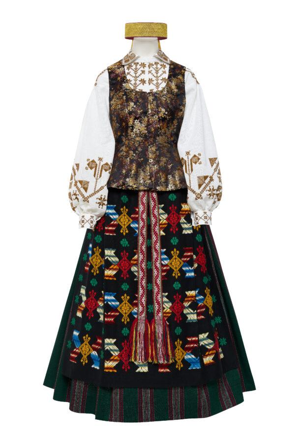Suvalkietiškas Kapsės moters tautinis kostiumas KS6