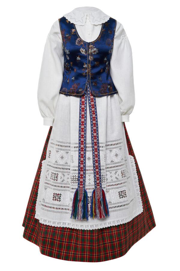 Dzūkiškas moteriškas tautinis kostiumas KD9