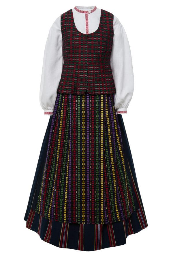 Žemaitiškas moteriškas tautinis kostiumas KZ6
