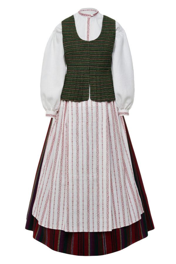 Žemaitiškas moteriškas tautinis kostiumas KZ7
